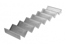 Stojak na kanapki z aluminium typu fala - dł. 58 cm *