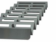 Stojaki na kanapki typu fala ze stali nierdzewnej - okienka