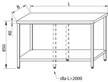 Stół centralny RMS-1008 *