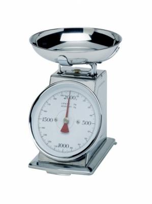 Waga gastronomiczna z szalką - zakres do 4 kg